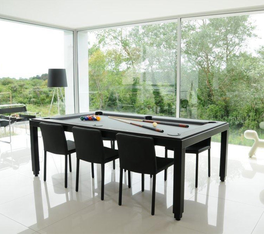 Fusion Tables Black Powder Coated