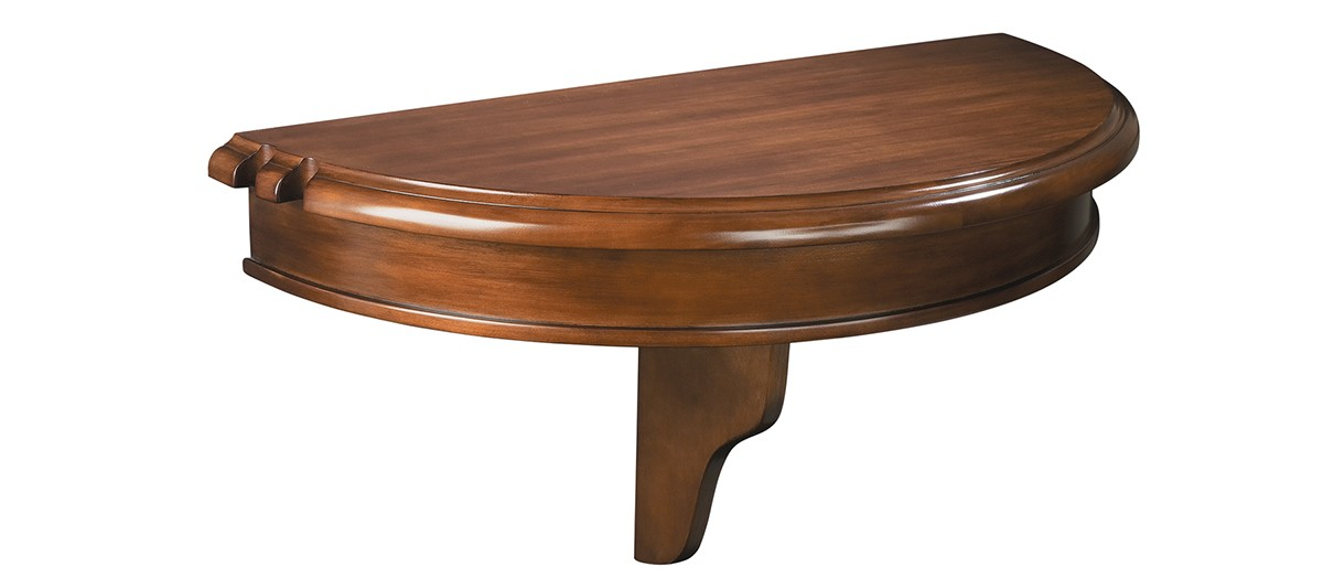 Colonial pub shelf half round furniture - Outdoor table tennis table nz ...